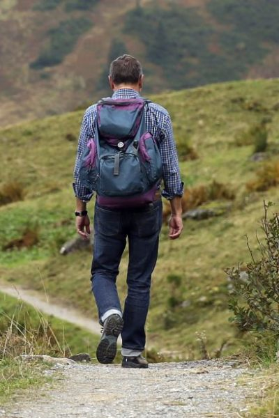 wanderer, backpack, hike