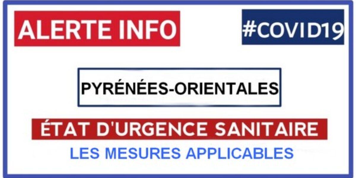 COVID 19 Etat d'Urgence Sanitaire dans les P.O.