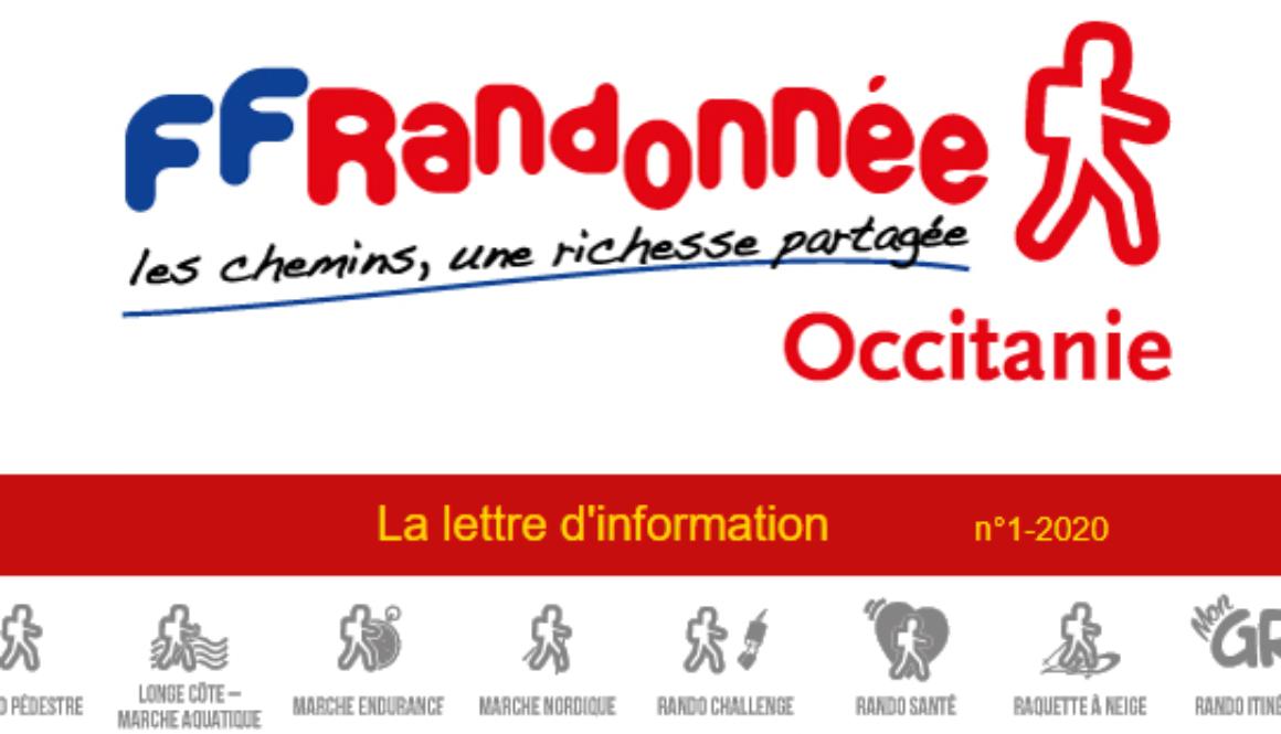 Lettre d'info Occitanie n°1-2020