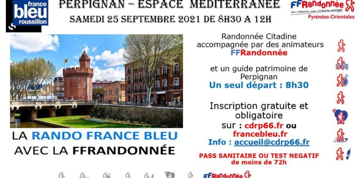 Rando citadine France Bleu 2021
